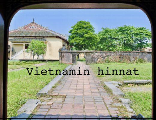 Vietnamin hinnat